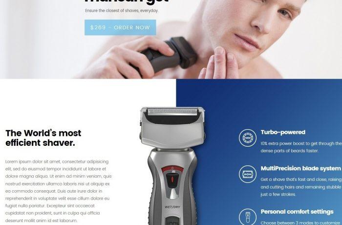 דף מוצר (למגוון מוצרים)